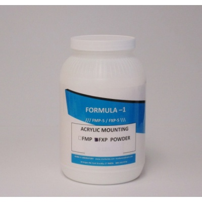 acrylic mounting powder
