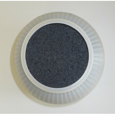 black phenolic mounting powder